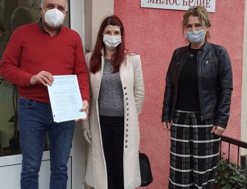 Каритас Русе получи поздравителен адрес от кмета на Община Русе