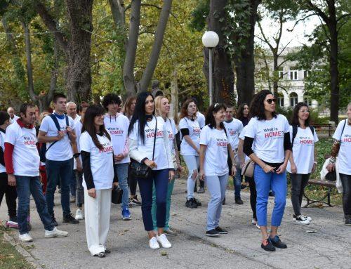Със символичен маратон на Каритас в Русе приключи международния проект MIND