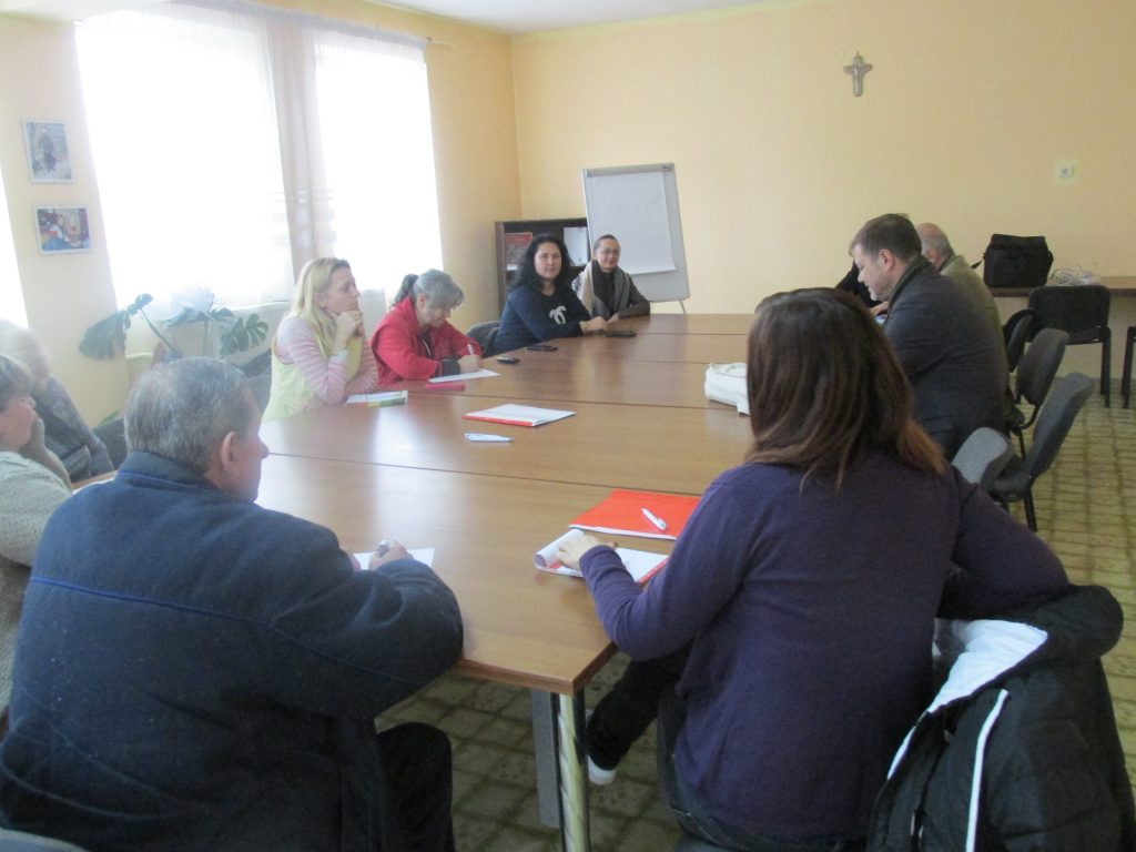 """2017 – Училище на Каритас: Проведе базисно обучение за сътрудници на """"Каритас Русе"""""""