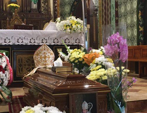 Почит пред паметта на Монсеньор Петко Христов